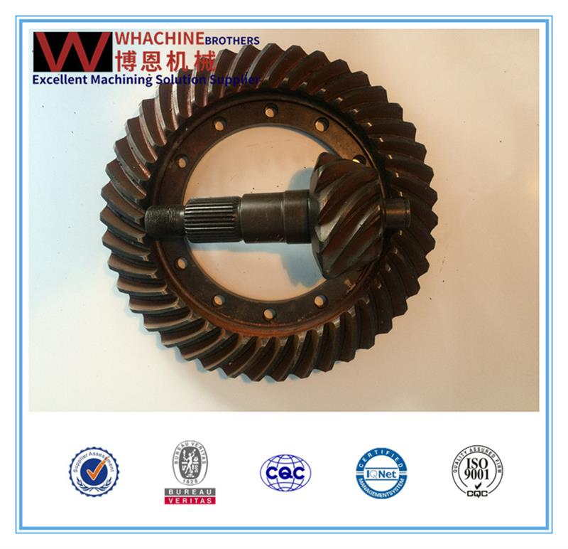 Professional pp/pvc/pvdf spiral gear with Great Price