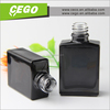 Wholesale and hottest selling 30 ml glass dropper bottle, black bottle men's perfume, ceramic oil bottle