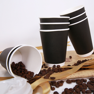 Eco-friendly cold drink coffee cup biodegradable