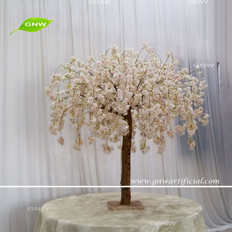 Gnw Bls1707015 4ft Light Pink Hanging Flowers Cherry Blossom Tree