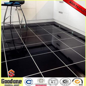 Super Black Porcelain Tile Floor 600x600mm Tp6001