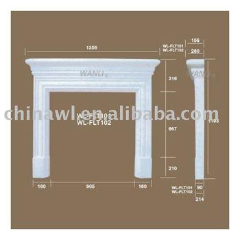 Cornisa decorativa para chimenea buy cornisa molduras de corona cornisa del techo product on - Molduras para chimeneas ...