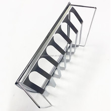 grilling spare rib and roast holder made of stainless steel