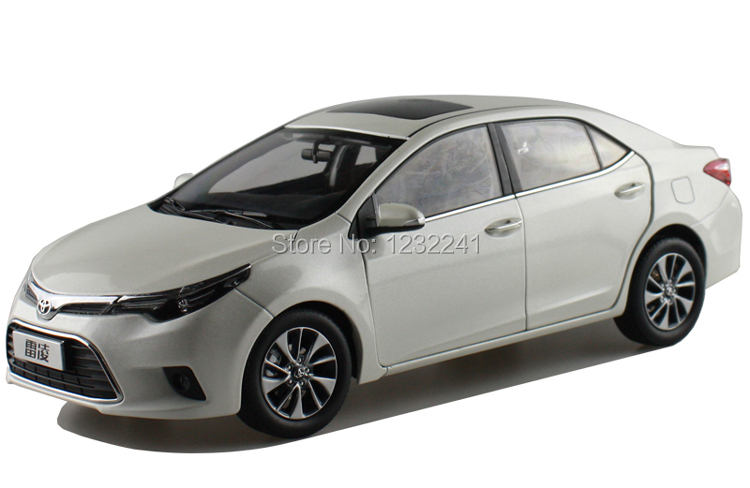 New Details 1 18 China Toyota Levin Corolla Alloy Car Model Simulation Toys Gift For Children White Color In Price On M Alibaba