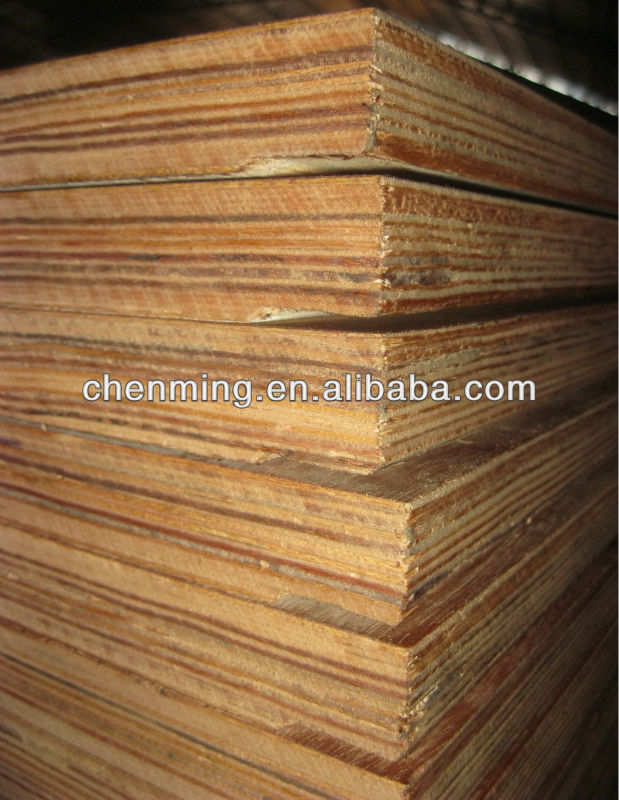 28mm Keruing Container flooring plywood
