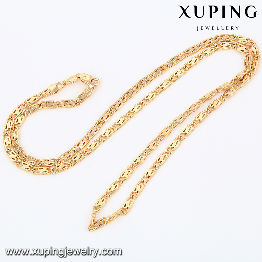 43043- Chain Necklace Xuping Jewelry 18K Gold Plated Necklace