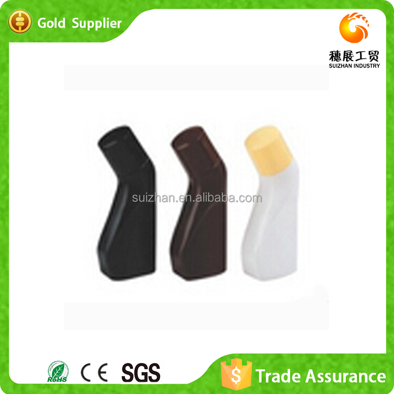 Wholesale HDPE Mini Plastic Bottle To Shoe Liquid Polish With Sponge