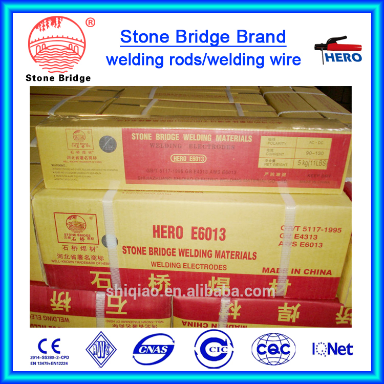 SANTAN Quality Brand welding electrodes AWS E6013 provide by Manufacture / welding rods