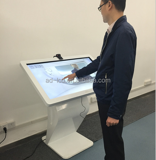 2016 New products electronic advertising board touch screen kiosk advertising equipment