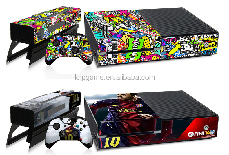 Hot Sell For Xbox One Skin For Xbox One Vinyl Skins
