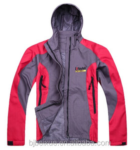 Windbreaker mammoth softshell jackets polyester unisex windproof bule winter jacket for unisex