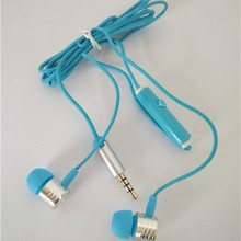 cheap promotion earbud wired silicon in ear earphone