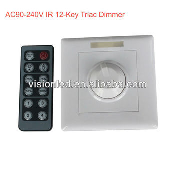 high quality 230v led dimmer switch for strip light buy 230v led dimmer switch dimmer led 220v. Black Bedroom Furniture Sets. Home Design Ideas