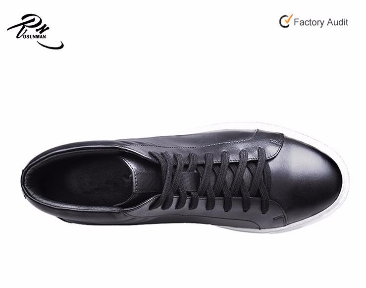 d5c1524c51fe High cut men fashion leather casual shoes custom design skate sneaker shoe  2016