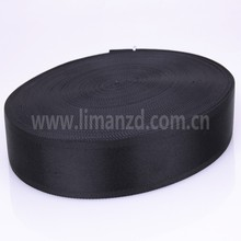 32mm black nylon backpack webbing factory wholesale