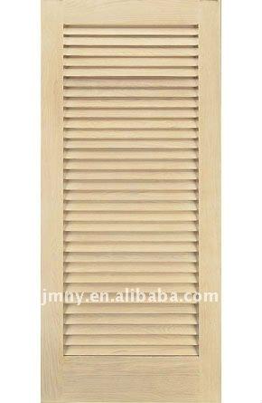 Lamas de madera puerta persiana puertas identificaci n for Ver precios de puertas de madera