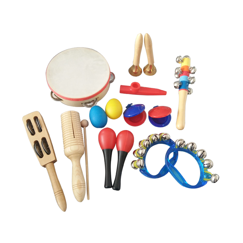 2017 Hot Sale Tambourine Set Kids Toys Educational