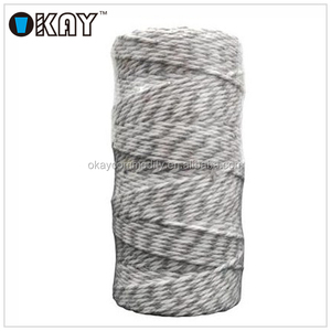 Free Samples 100% cotton rope 80m/roll colorful twine
