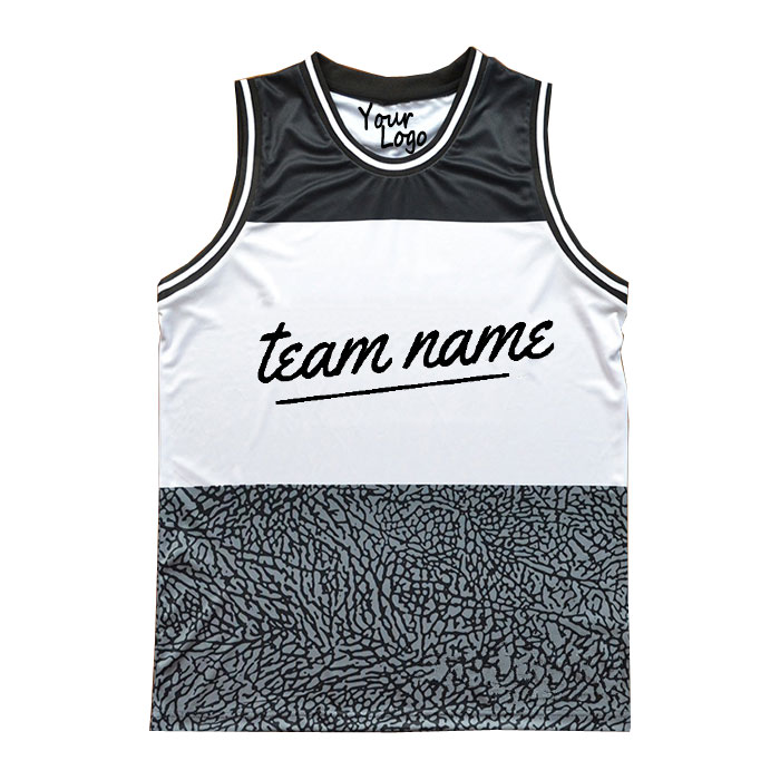 Sublimierte reversible Mesh Basketball Trikots New Design Custom Männer reversible Großhandel leere Basketball Trikots