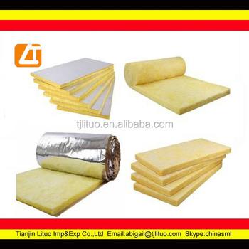 Aislamiento de fieltro 25kgm3 fibra de vidrio material de - Aislamiento fibra de vidrio ...
