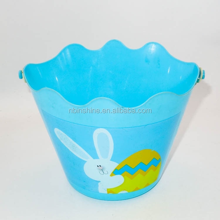 Good quality easter basket with printing and handle