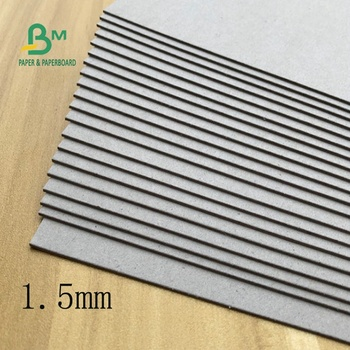 1.5MM 2MM FSC Paper Board  Book Binding Grey Board For Book Cover Material