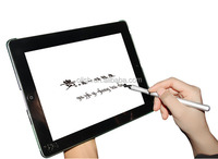 Super Fine Tip High Precision Touch Screen Stylus for iPad iPhone & Other Tablets