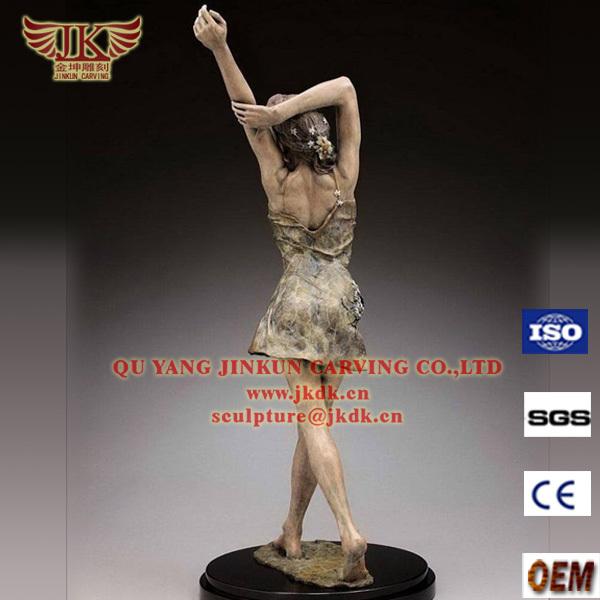 Sculpture de moderne personnalis enfant en bronze statue - Statue moderne pour jardin ...