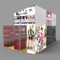 Printing Photo Backdrop Booth For Trade Fair Sales Display