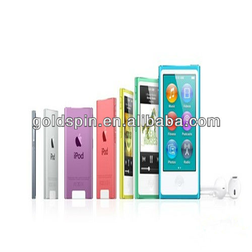 Manufacture !!! Crystal Clear Screen Cover for IPOD NANO 7