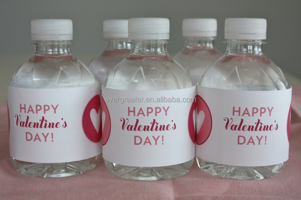 Bottled water label designcustom printing labels stickers for Buy water bottle labels