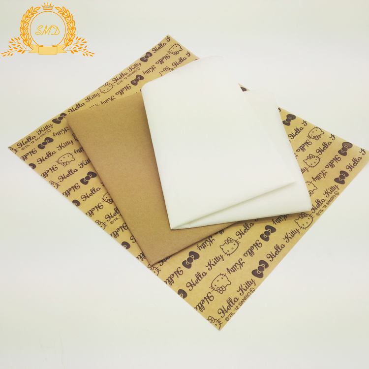 Food grade wood pulp wax paper for wrapping