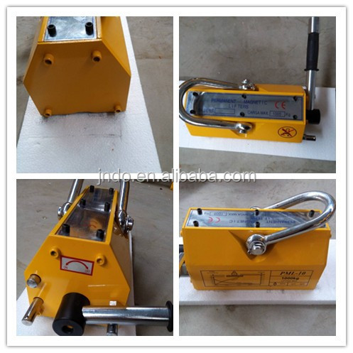 1 ton lifting magnet permanent magnetic lifter