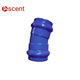ISO2531 Ductile Iron All Socket Push on Joint Tee for PVC Pipe