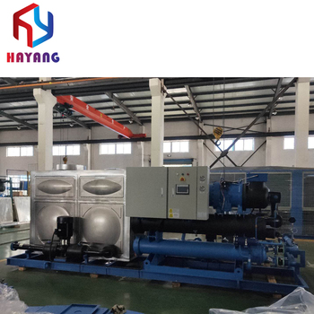Cooling water chiller systeem