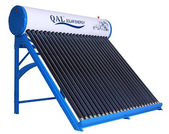 Portable Solar Water Heater : Portable copper coils solar water heater with l mini tank