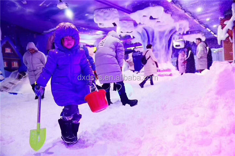 Factory high quality popular  customized real snow ice house playground