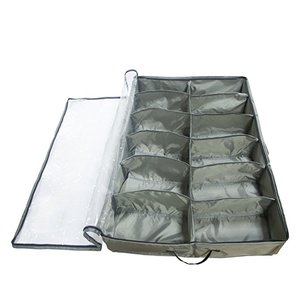 Under Bed Space Saver Organizer Shoe Storage Bag (12 cell )