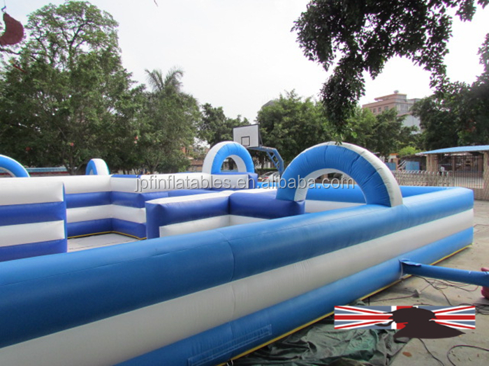 HOT!! inflatable racing track, race track game, go kart track