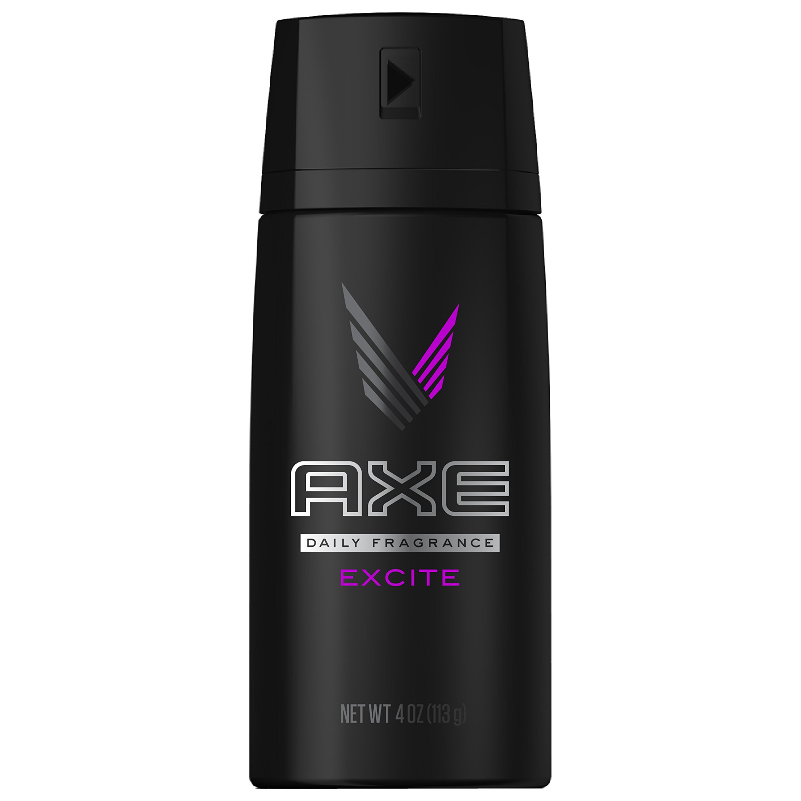 AXE Body Spray for Men, Excite 4 oz (Pack of 3)