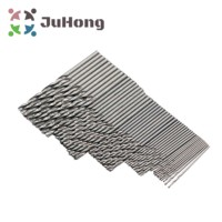 50 Pcs Wholesale And Retail HSS Steel Titanium Straight Taper Shank Twist Drill And Hand Solid Carbide Twist Trill