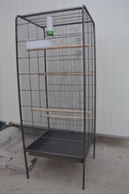 wholesale iron bird cage with two sliding access grille doors