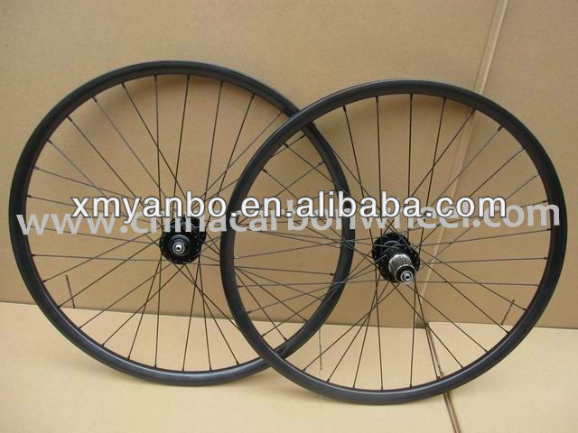 13.07301 27.5er ruote da strada a buon mercato 23mm carbon wheels clincher for mtb 650B wheels