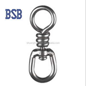 fishing tackle accessories stainless steel nickle single swivel China manufacturer
