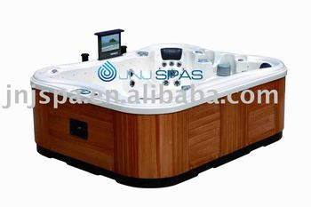Portable Whirlpool Spa Bathtub With Pop Up Lcd Tv Buy
