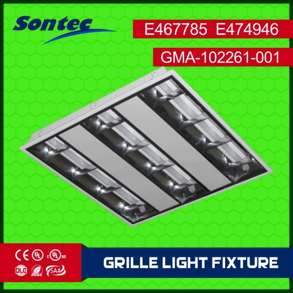 easy to install Dimmable White Frame LED grille light