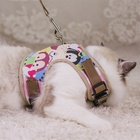 Pet Product Led Dog Harness And Leash Of The Yellow Color
