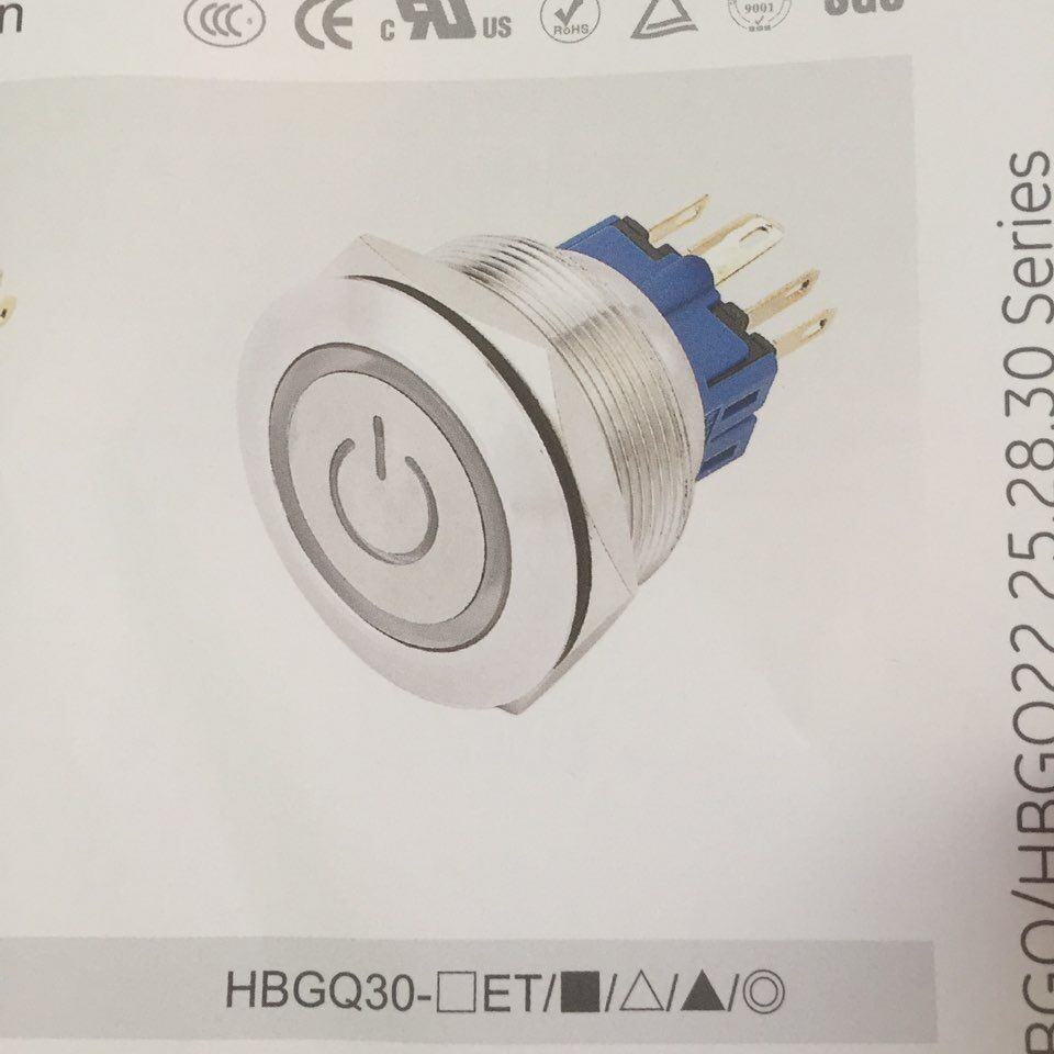 Illuminated Push Button Power Symbol Wholesale Symbolism Latching Switch Lighted Switches Suppliers Alibaba