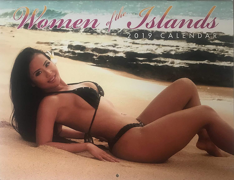 Girls of hawaii calendar son