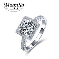 Wholesale 925 sterling silver egyptian engagement wedding rings with name single stone ring designs KR1300S